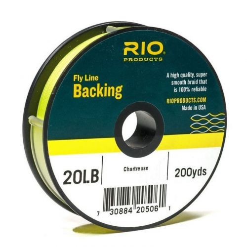 Backing RIO 20 lbs Chartreuse 180m