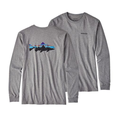 M's LS Fitz Roy Trout T-Shirt