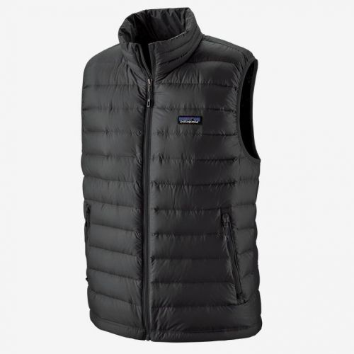 M's Down Sweater Vest Black (BLK)