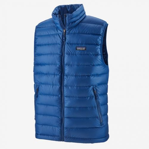 M's Down Sweater Vest Superior Blue (SPRB)