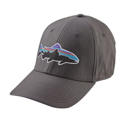 Fitz Roy Trout Stretch Fit Hat Forge Grey (FGE)