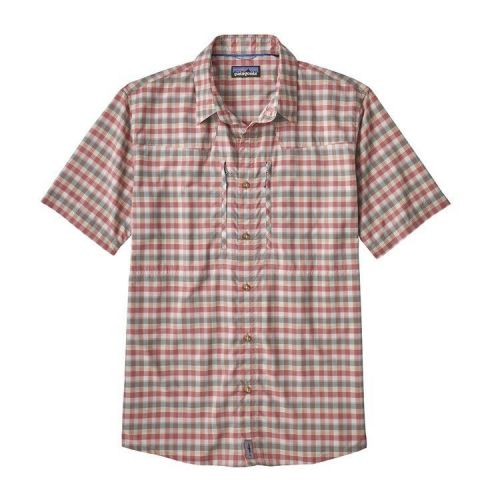 M's Sun Stretch Shirt Mauro: Static Red (MAUS)