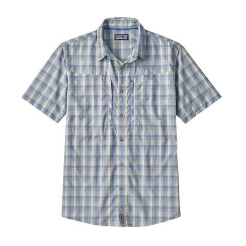 M's Sun Stretch Shirt Mauro: Railroad Blue (MAUR)
