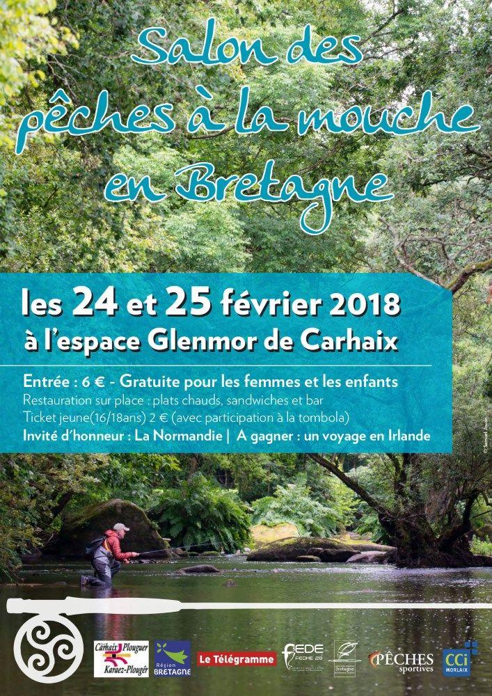 Affiche Salon des pêches de Carhaix